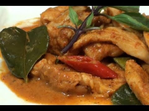Thai Spicy stir-fried chicken