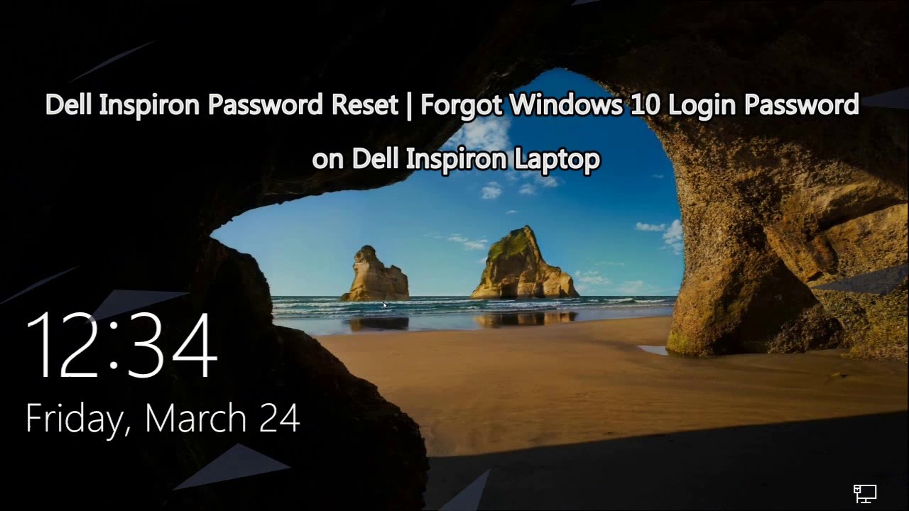 password recovery dell laptop