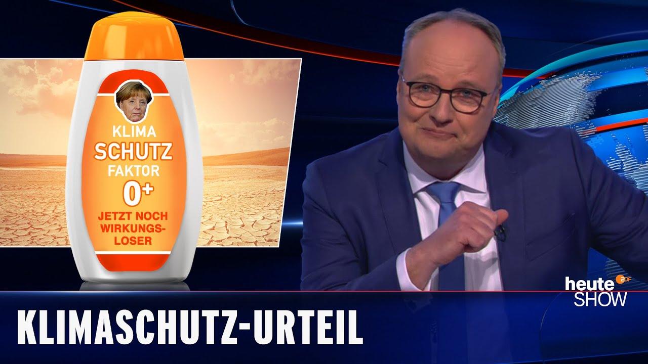 Klimaschutzgesetz: Wir leben auf Kosten der jungen Generation | heute-show vom 07.05.2021