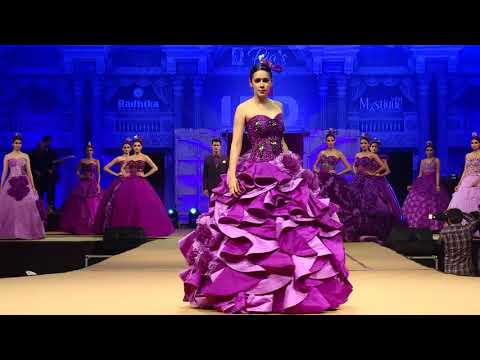 TIMELESS PURPLE @IFJD FASHION SHOW 2017 @ RAJKOT