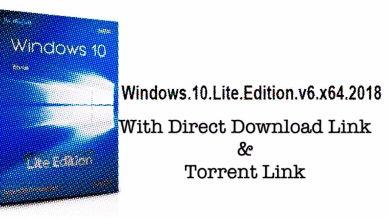 windows 10 lite iso 32 bit download