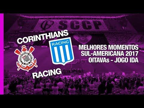 Melhores Momentos - Corinthians 1 x 1 Racing - Copa Sul-Americana - 13/09/2017