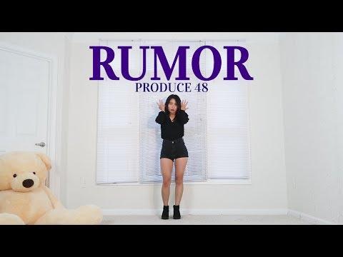 "PRODUCE48(프로듀스48) ""RUMOR (루머)"" Lisa Rhee Dance Cover"