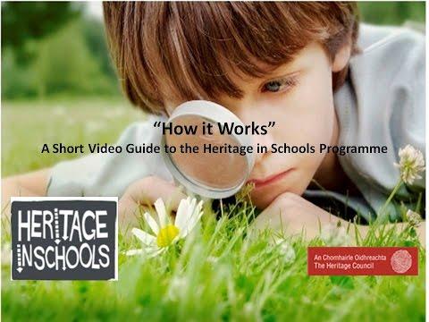 Heritage in Schools Programme- How it Works