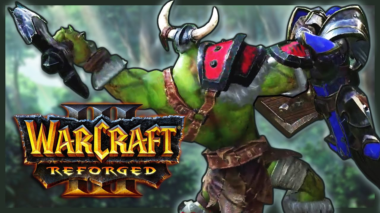 Warcraft 3 Reforged - Playthrough, Comparison, Q&A