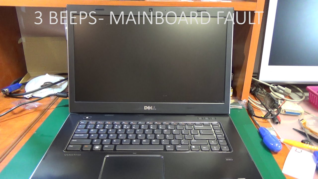 Dell Vostro 3550 or N5110 - 3 beeps error repair