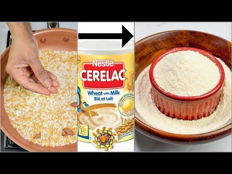 Homemade Cerelac for 6 12 Month Babies | Super Healthy Baby Food for 6 Month old