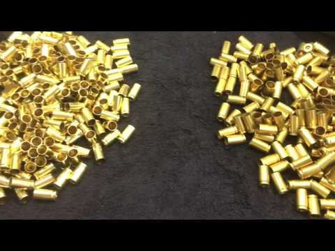 Cleaning 9MM Brass With and Without Vinegar using Harbor Freight Dual Tumbler