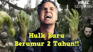 Ini Alasan Hulk Tidak Mau Keluar di Avenger Infinity War!