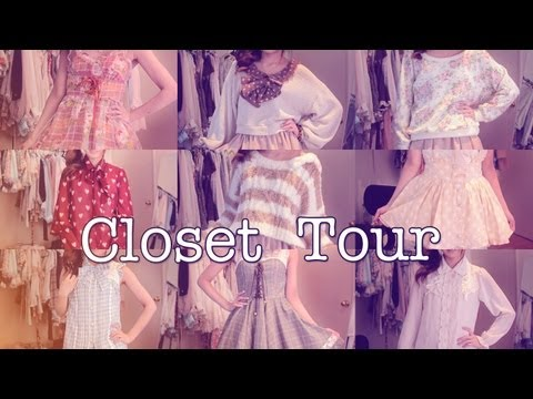 Closet Tour ♡ 50+ Outfits in 5 minutes! - 동영상
