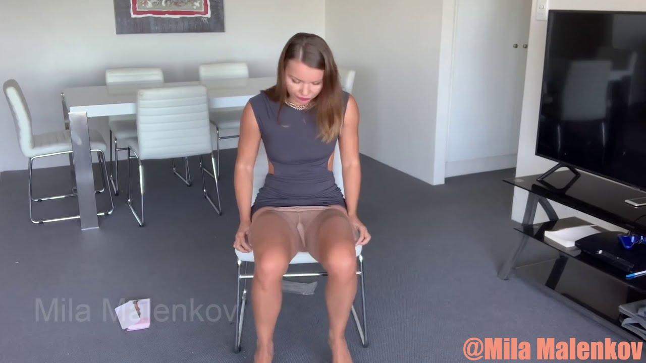 Pantyhose Legs Compilation Part 2