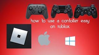 Como usar qualquer controlador em Roblox 2019 (Nintendo switch PS4 PS3)