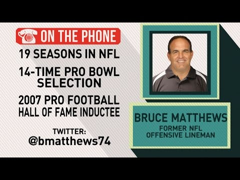 Gottlieb: Bruce Matthews on his football family and offensive lines