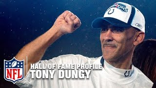 Tony Dungy BucsColts HC Career Feature  2016 Pro Football Hall of Fame  NFL