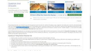New Website for Australian Citizenship Practice Test
