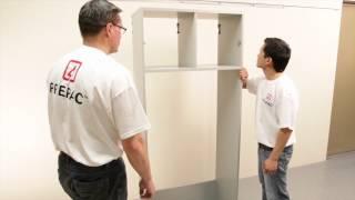 Prepac's Hangups Garage Storage Installation