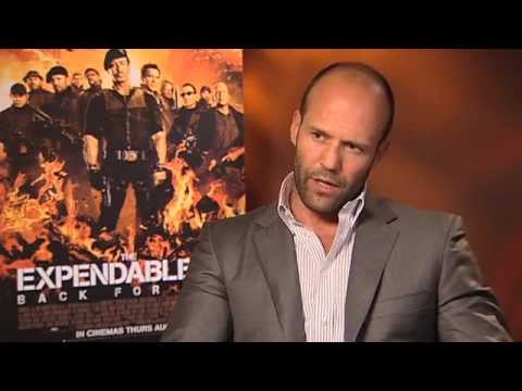 Jason Statham Interview - The Expendables 2