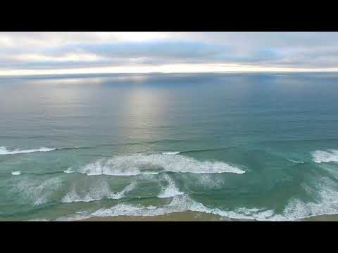 Coastline Beach City video background