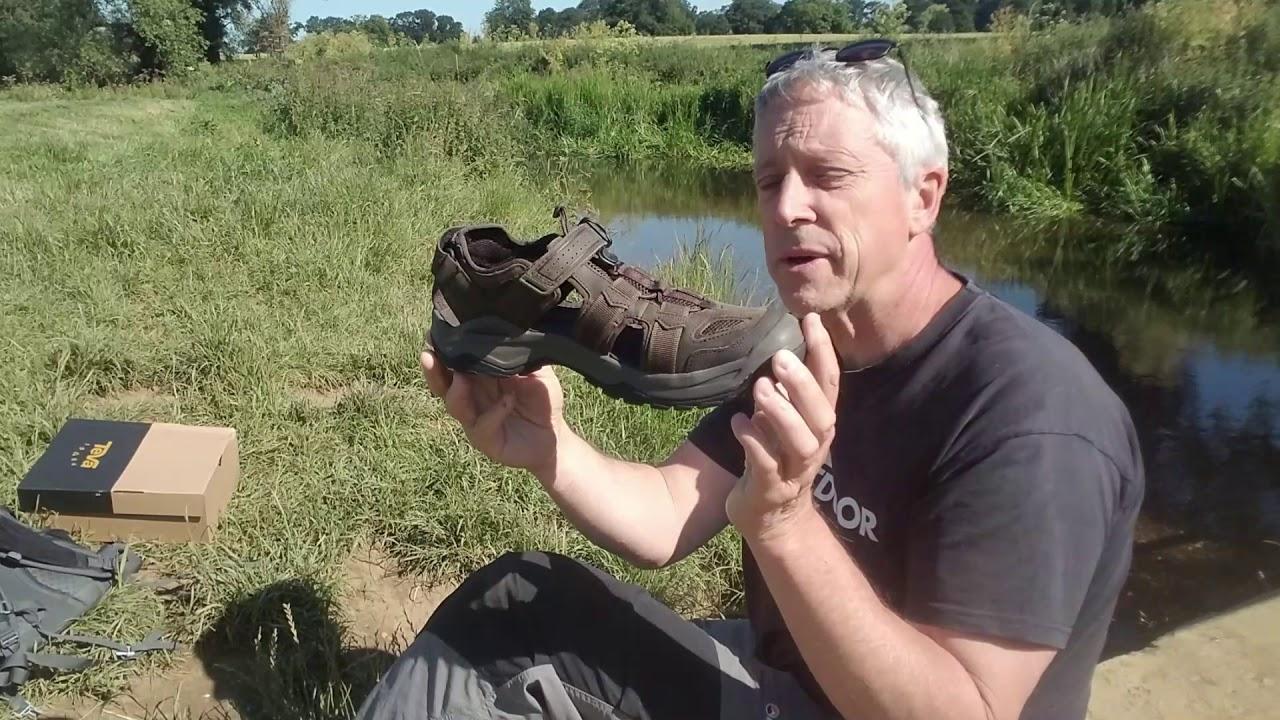 Teva Omnium 2 Leather Sandal - YouTube