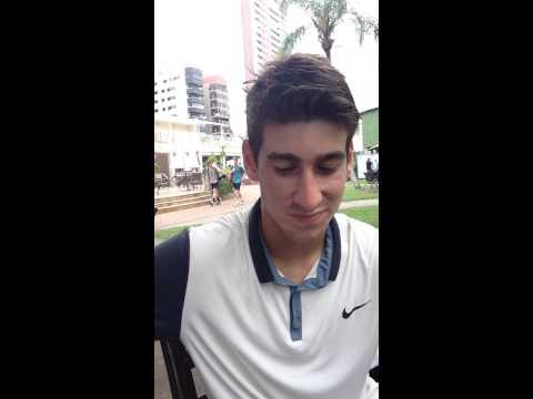 Entrevista com Orlando Luz no Challenger de Santos
