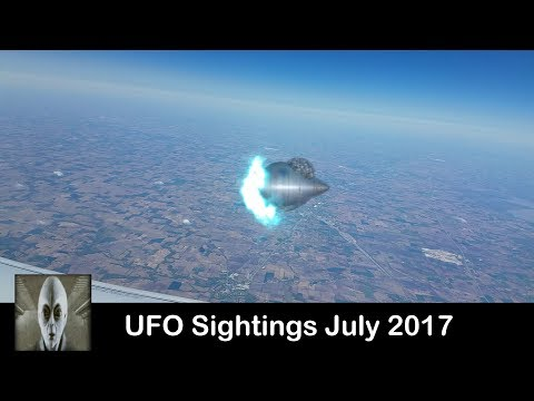 UFO Sightings Excellent Footage July 2017