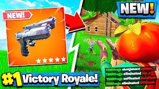 *NEW* Fortnite DUAL PISTOL GAMEPLAY! - Fortnite Battle Royale