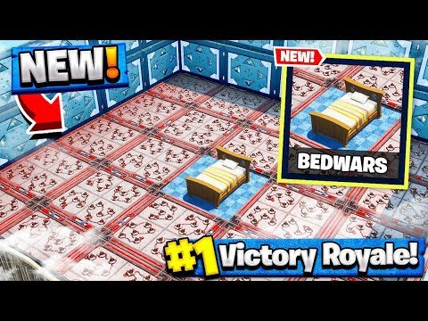 *NEW* PROTECT THE BED Gamemode In Fortnite Battle Royale!