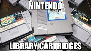 Do You Have Any Nintendo Library Carts In Your Collection? - Collection Cuts Episode 1!