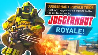 JUGGERNAUT ROYALE is AMAZING in WARZONE!