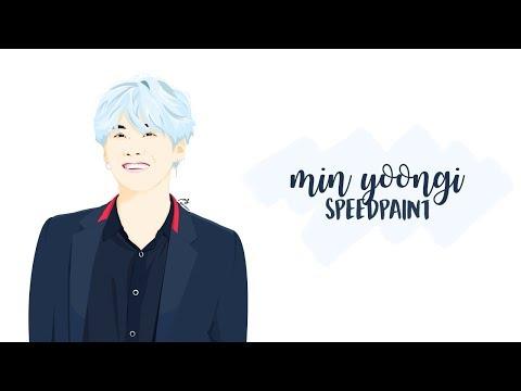 Min Yoongi [SPEEDPAINT] #GeniusYoongiDay