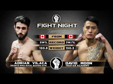 "Fight Night: Medicine Hat - David Moon vs Adrian ""The Wolf"" Vilaca"