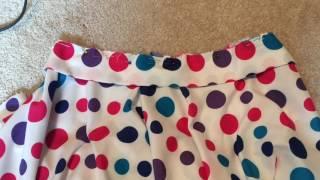 DIY Easy Circle Skirt- Beginner Sewing