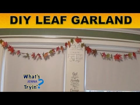 Leaf Garland DIY