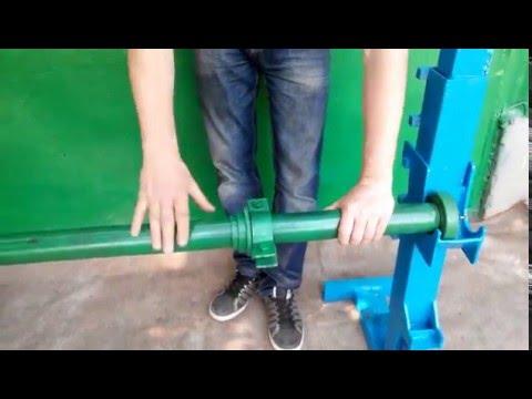 видео: Кабельные домкраты(подъемники)-для подъема кабельных барабанов и размотки провода, до 4 т