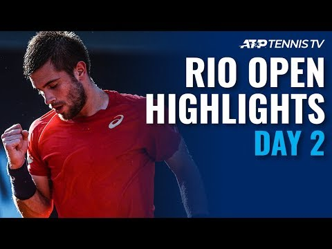 Thiem, Coric Survive Openers; Pella Falls  | Rio 2020 Day 2 Highlights
