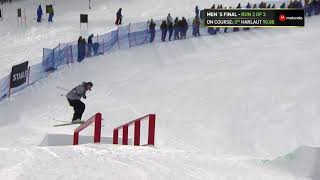 Henrik Harlaut First Place Slopestyle Winning Run | Dew Tour Breckenridge 2017