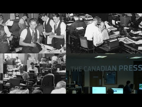 Front row seat to history: The Canadian Press marks 100 years