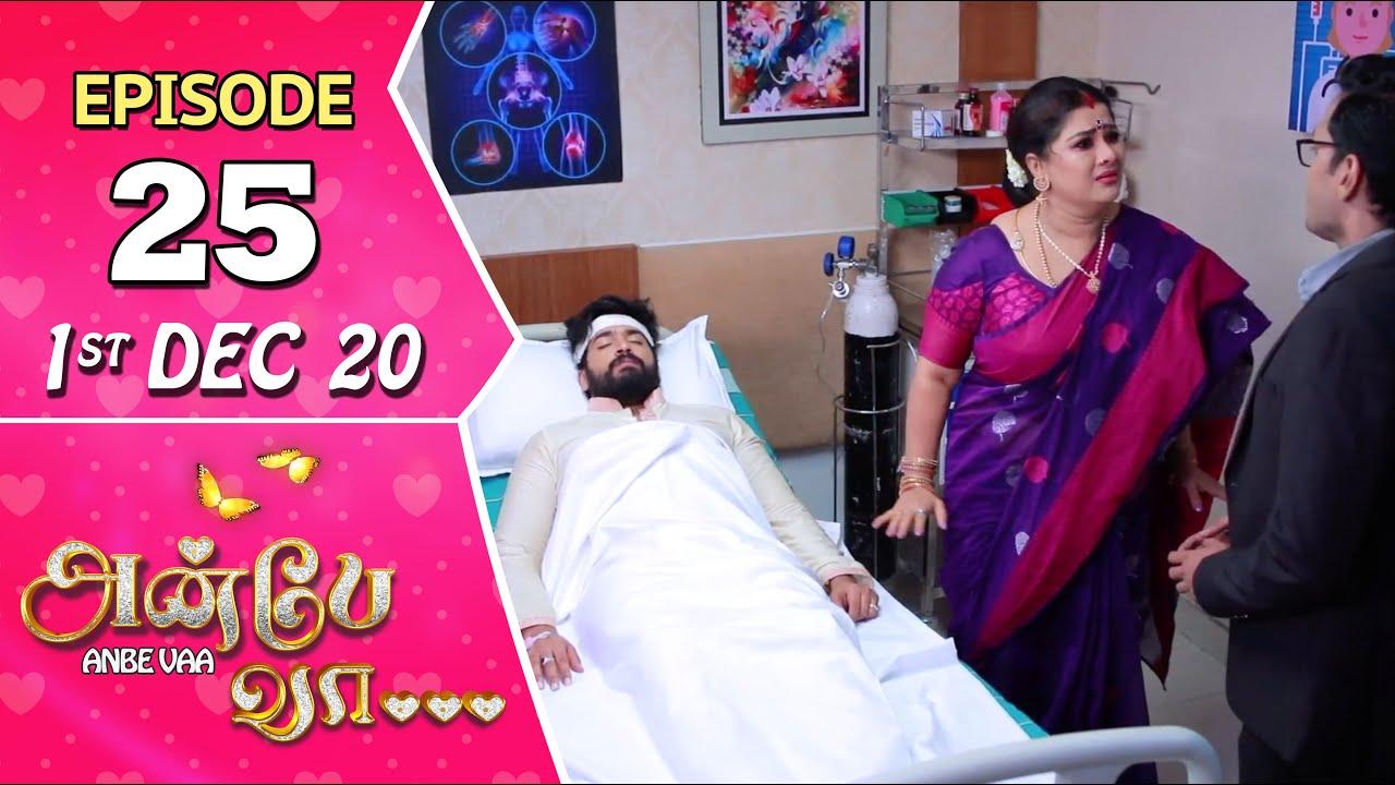 Anbe Vaa Serial | Episode 25 | 1st Dec 2020 | Virat | Delna Davis | SunTV Serial |Saregama TVShows