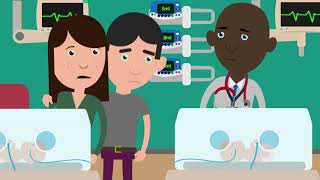 A stay in neonatal care - An animated guide