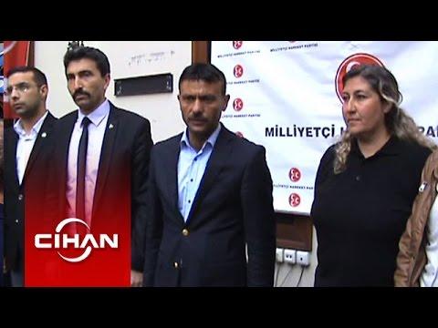 Cumhurbaşkanlığı korumaları 'Bozkurt' işareti yapılan MHP binasını bastı