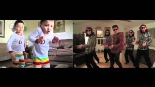 Justin and Jeremy + Bruno Mars - The Lazy Song