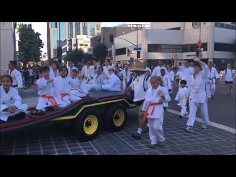 Nanka Judo in Nisei Parade 8/14/16