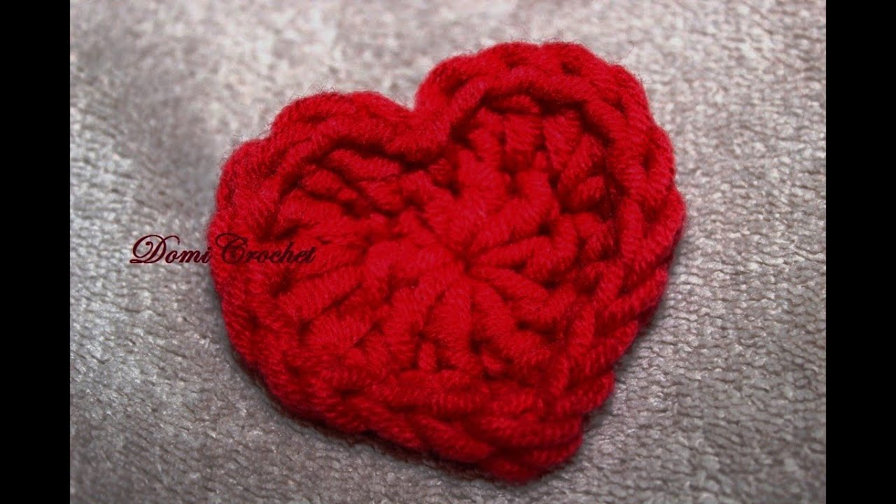 Easy crochet heart pattern youtube easy crochet heart pattern bankloansurffo Images