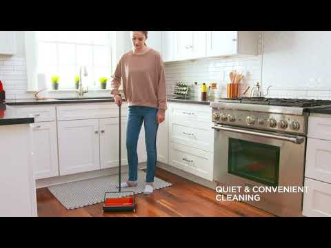 REFRESH™ Carpet & Floor Manual Sweeper Feature Overview