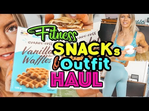 XXL Fitness Haul | Snacks, Sport Outfit try on |  von Prozis thumbnail