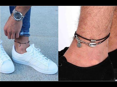 Anklet Bracelet Collection For Men Real Man Style