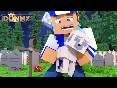 Little Donny's PET DOG IS DEAD.... Minecraft