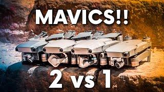 DJI MAVIC 2 PRO and ZOOM VS MAVIC 1 PRO and PLATINUM