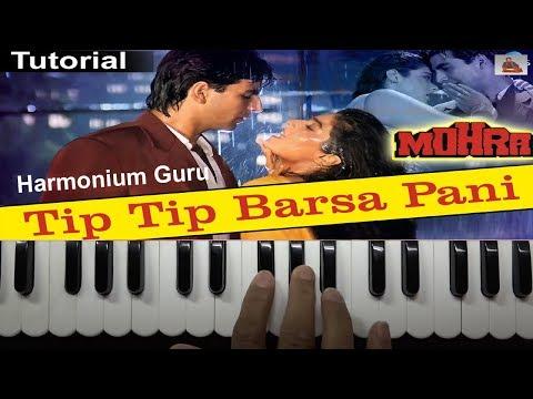 Tip Tip Barsa Pani || Learn On Harmonium || Harmonium Guru Tutorial