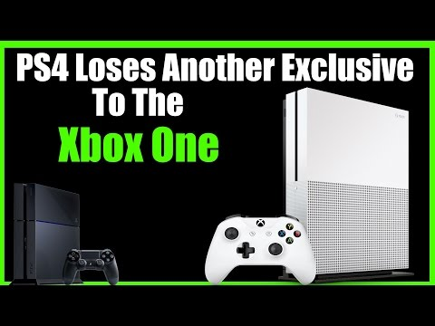 Uh Oh, PS4 Loses Yet Another Big Exclusive To The Xbox One!